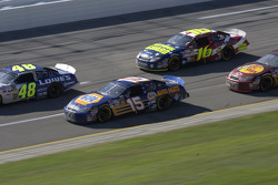 Jimmie Johnson Michael Waltrip and Greg Biffle