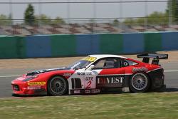#2 G.P.C. Sport Ferrari 575 Maranello GTC: Andrea Piccini, Jean Denis Deletraz