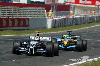 Mark Webber and Giancarlo Fisichella