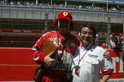 Ross Brawn and Hiroshi Yasukawa