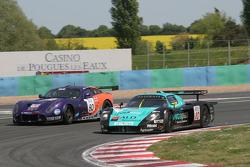#10 Vitaphone Racing Team Maserati MC 12 GT1: Thomas Biagi, Fabio Babini, #80 Team LNT TVR T400R: Lawrence Tomlinson, Jonny Kane