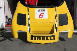 Corvette C5R front part