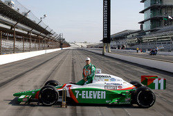 Pole winner for the 89th running of the Indianapolis 500: Tony Kanaan