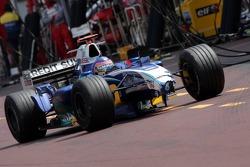 Jacques Villeneuve on pitlane