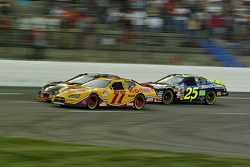 Mike Bliss, Travis Kvapil and Brian Vickers