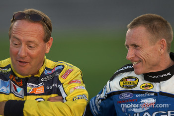 Ken Schrader and Mark Martin