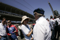 Ashley Judd and Sir Jackie Stewart