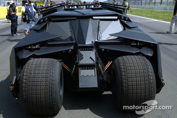 The new Batmobile