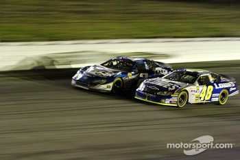 Rusty Wallace and Jimmie Johnson