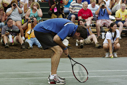 Tennis exhibition match: Elliott Sadler