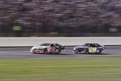 Bobby Labonte and Jimmie Johnson