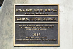 The Speedway is an historic site