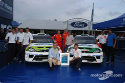 Ford celebrates 50 consecutive WRC points scoring events