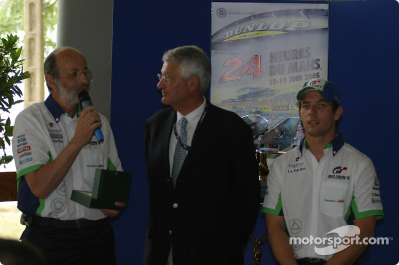 Henri Pescarolo, Jean-Claude Plassart and Sébastien Loeb