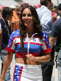 A lovely USGP girl