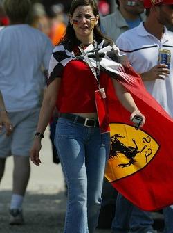 A race fan