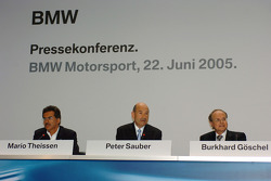 BMW Press conference, Munich