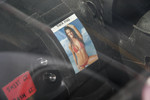 Seen on the dashboard of the #78 Panoz