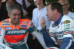 Mick Doohan and Freddie Spencer