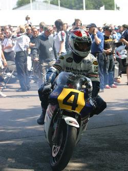 #32 1985 Honda NSR500, class 15: Freddie Spencer