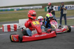Bridgestone karting event: Michael Schumacher