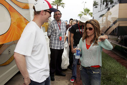 Dale Earnhardt Jr. and Lisa Marie Presley