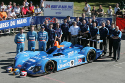 #9 Team Jota Zytek Engineering Zytek: Sam Hignett, John Stack, Haruki Kurosawa and team