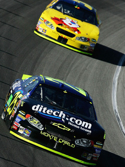 Brian Vickers and Kyle Busch