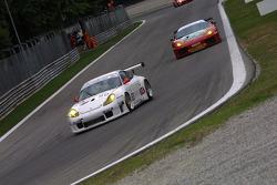 #90 Sebah Automotive Porsche 996 GT3 RSR: Xavier Pompidou, Marc Lieb
