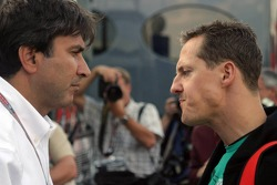 Pasquale Lattuneddu and Michael Schumacher