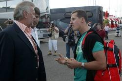 Willi Webber and Michael Schumacher