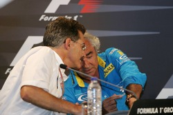 Press conference: Dr Mario Theissen and Flavio Briatore
