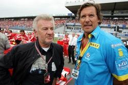 Willi Weber with actor Ralf Möller