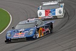 #58 Red Bull/ Brumos Racing Porsche Fabcar: David Donohue, Darren Law, #59 Brumos Racing Porsche Fabcar: Hurley Haywood, JC France