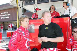 Ryan Briscoe and Jaques Lazier