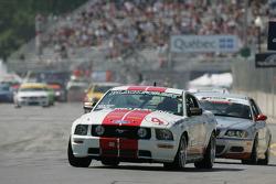 #4 Blackforest Motorsports Mustang GT: Tom Nastasi, Ian James