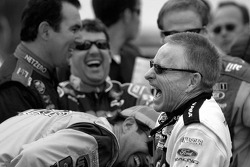 Mark Martin shares a laugh with Elliott Sadler, Mike Bliss, Tony Stewart and Rusty Wallace