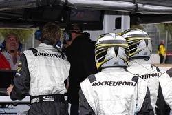 Rocketsports Racing pit area
