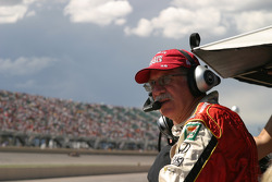 Late race tension at Andretti Green Racing