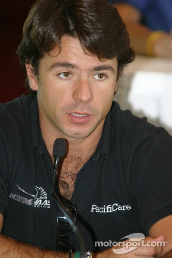 Pre-event press conference: Oriol Servia