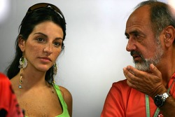 Connie Montoya with father-in-law Pablo