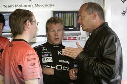 Kimi Raikkonen and Ron Dennis