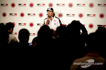 At home in Tokyo with Takuma Sato: press conference for Takuma Sato
