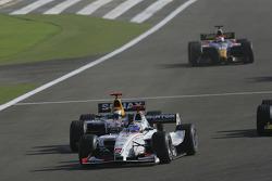 Nico Rosberg leads Heikki Kovalainen