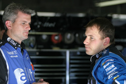 Matt Borland and Ryan Newman