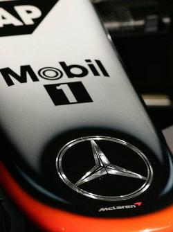Nose cone of the McLaren