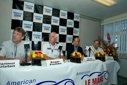 Press Conference for Porsche Penske and DHL