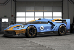 Fictional Ford GT Le Mans liveries