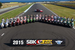World Superbike riders season photo