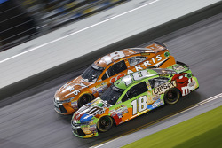 Kyle Busch, Joe Gibbs Racing Toyota, Carl Edwards, Joe Gibbs Racing Toyota